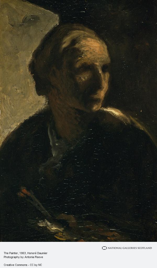 Honoré Daumier, The Painter (1865)