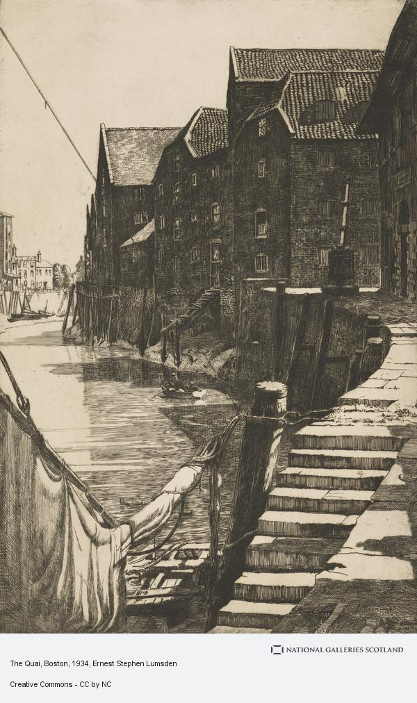 Ernest Stephen Lumsden, The Quai, Boston