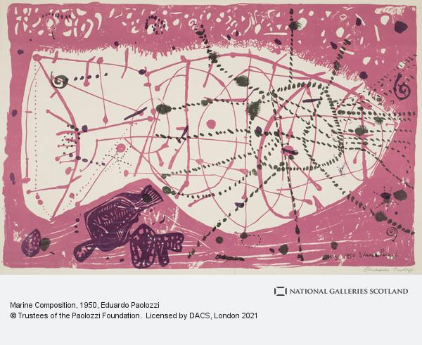 Eduardo Paolozzi, Marine Composition