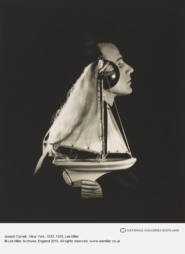 Lee Miller, Joseph Cornell - New York, 1933