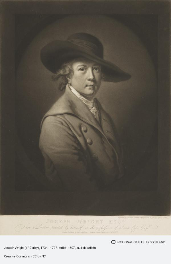 James Ward, Joseph Wright (of Derby), 1734 - 1797. Artist