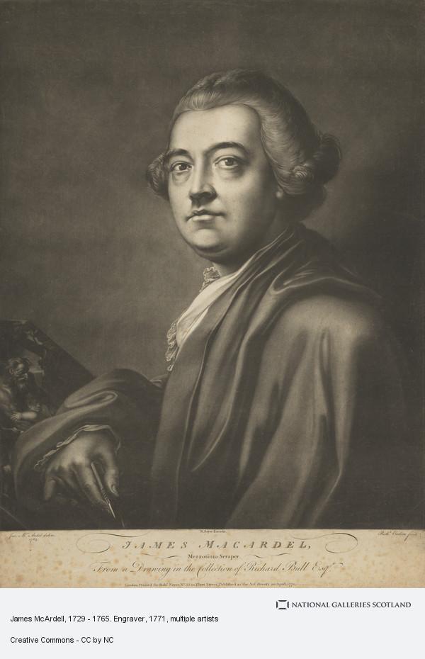 Richard Earlom, James McArdell, 1729 - 1765. Engraver