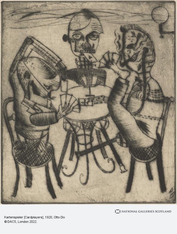 Otto Dix, Kartenspieler [Cardplayers]