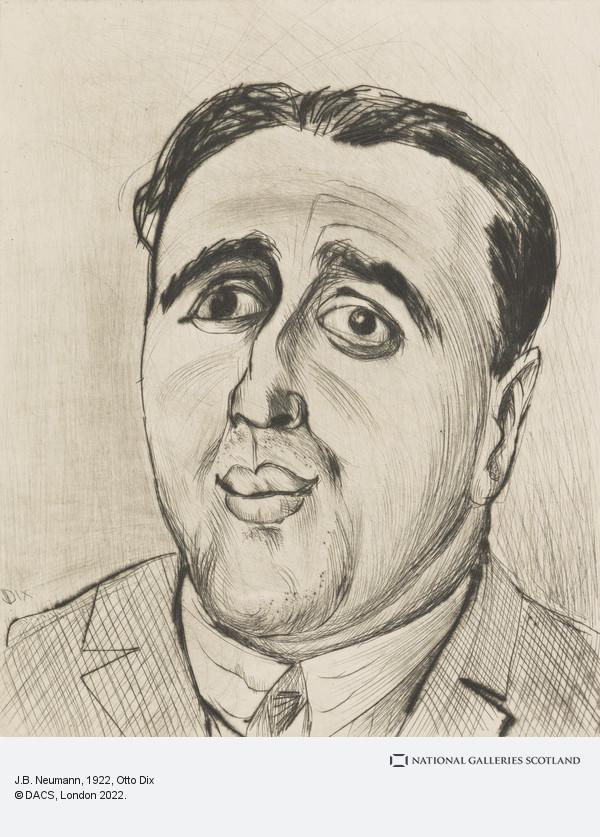 Otto Dix, J.B. Neumann