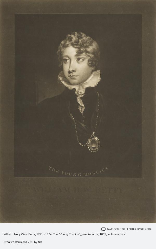 Samuel William Reynolds, William Henry West Betty, 1791 - 1874. The