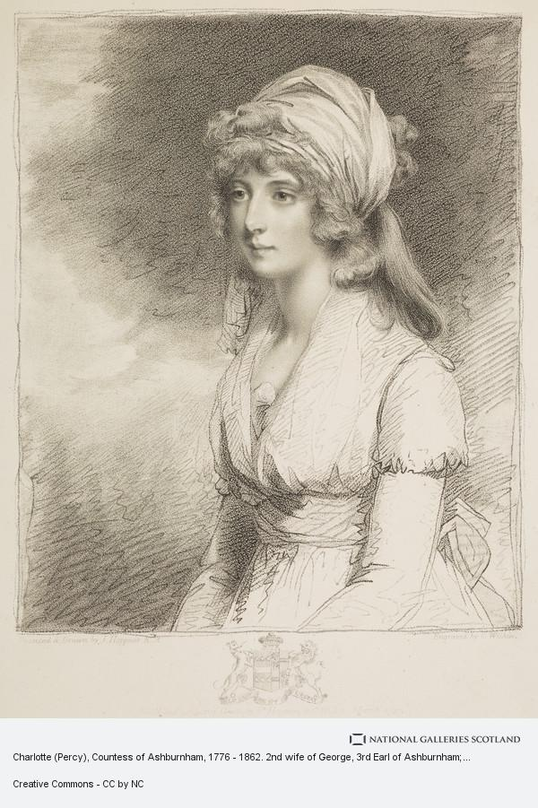 Charles Wilkin, Charlotte (Percy), Countess of Ashburnham, 1776 - 1862. 2nd wife of George, 3rd Earl of Ashburnham; daughter of George, 5th Duke of Northumberland