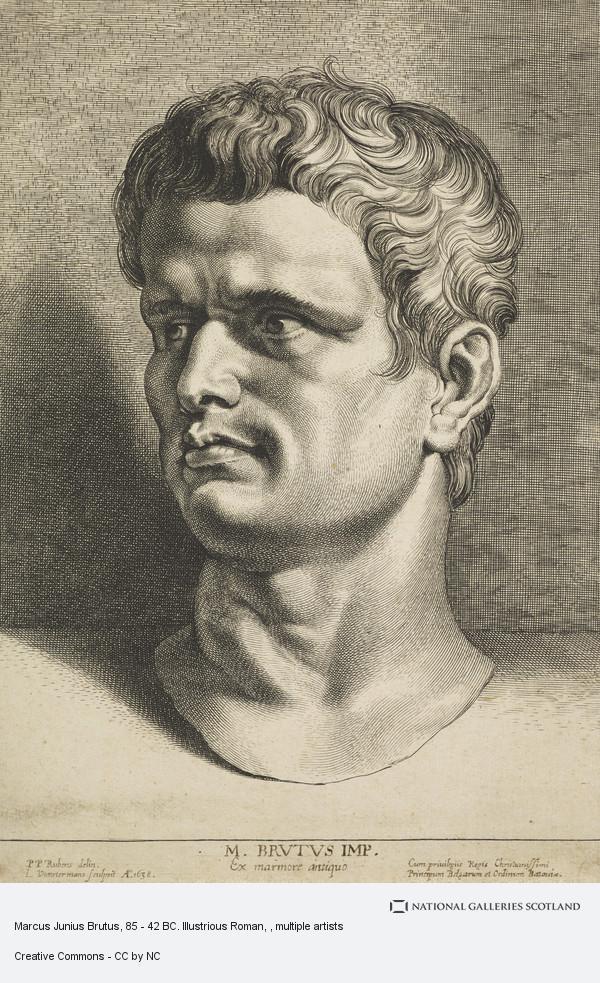 Image result for marcus junius brutus