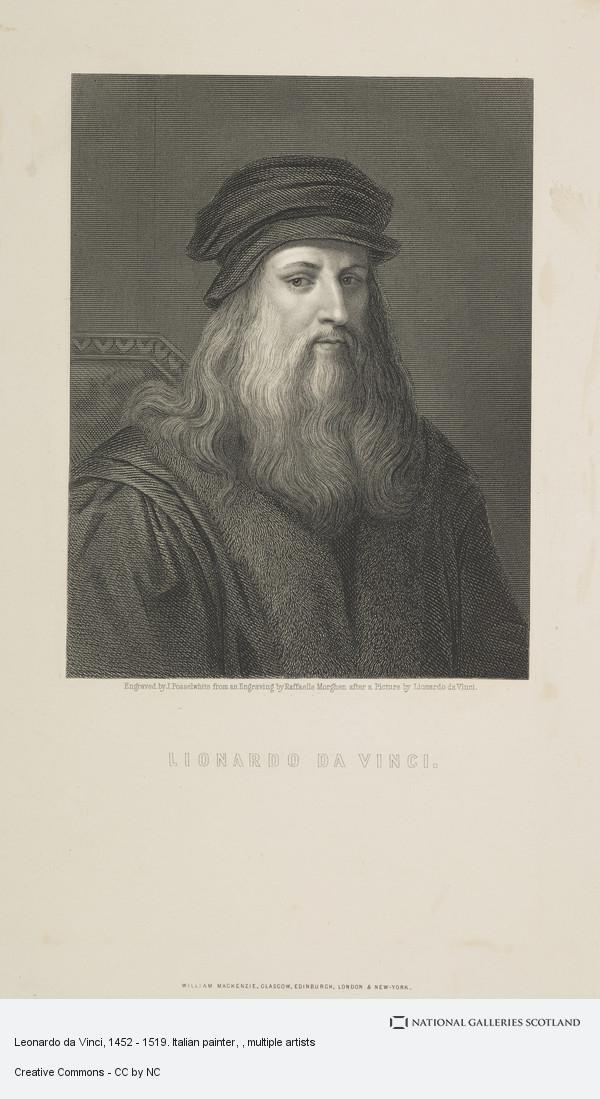 Posselwhite, Leonardo da Vinci, 1452 - 1519. Italian painter