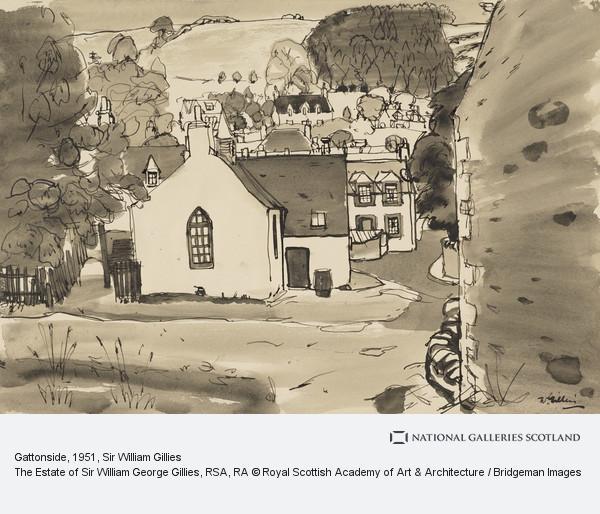 Sir William Gillies, Gattonside