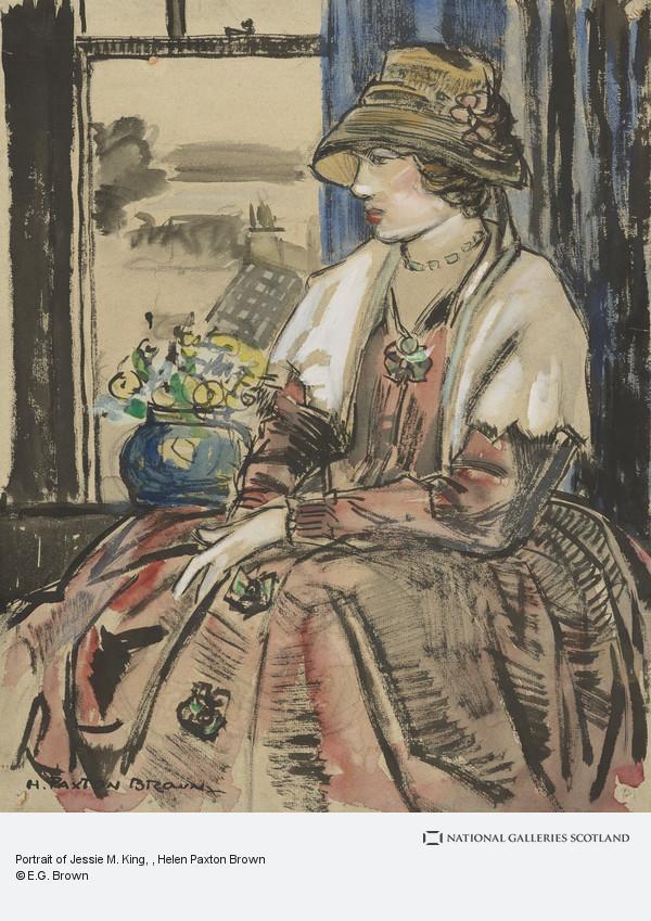 Helen Paxton Brown, Portrait of Jessie M. King