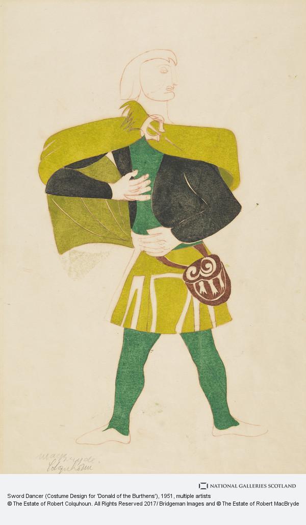 Robert Colquhoun, Sword Dancer (Costume Design for 'Donald of the Burthens')