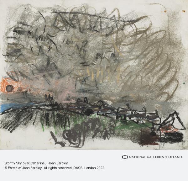 Joan Eardley, Stormy Sky over Catterline