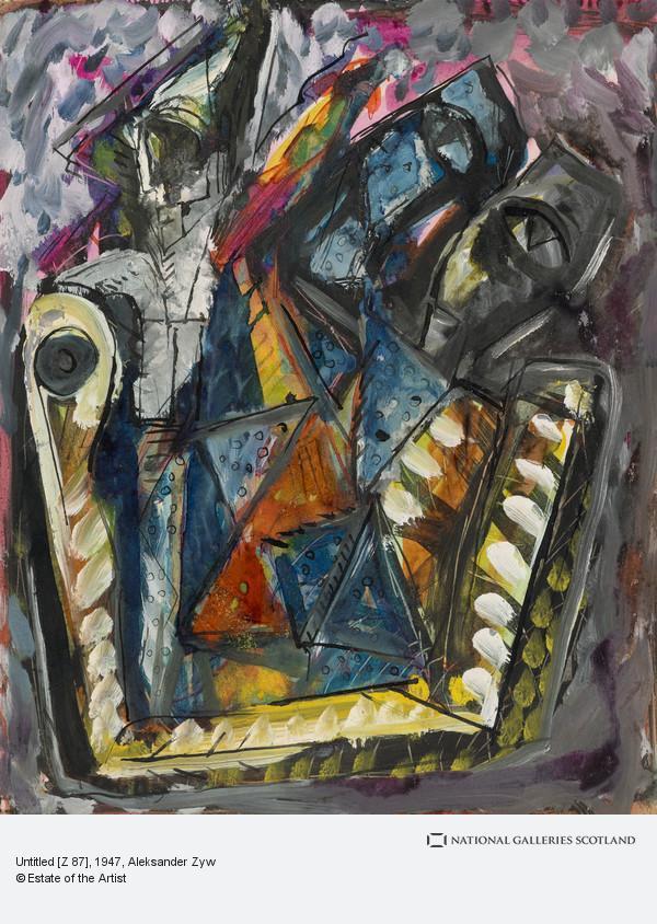 Aleksander Zyw, Untitled [Z 87]