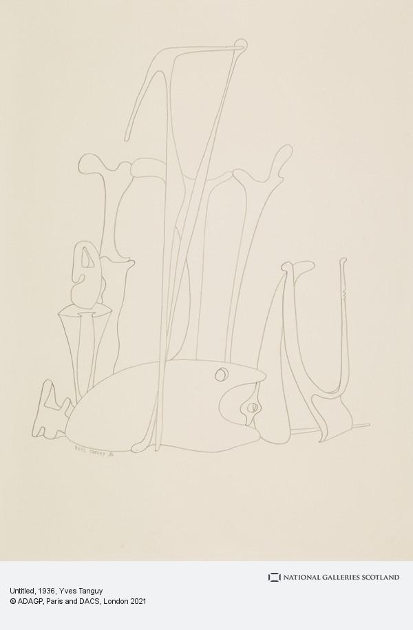 Yves Tanguy, Untitled