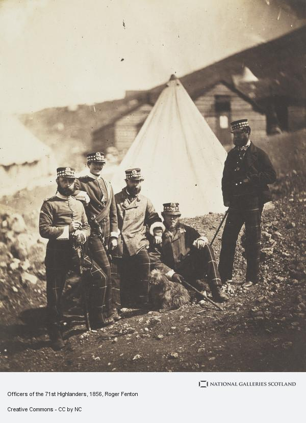 Roger Fenton, Officers of the 71st Highlanders