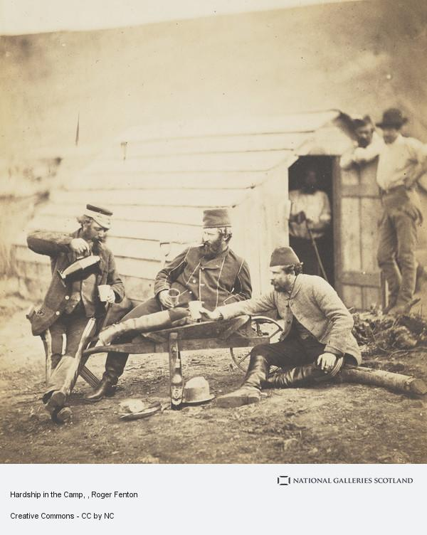 Roger Fenton, Hardship in the Camp