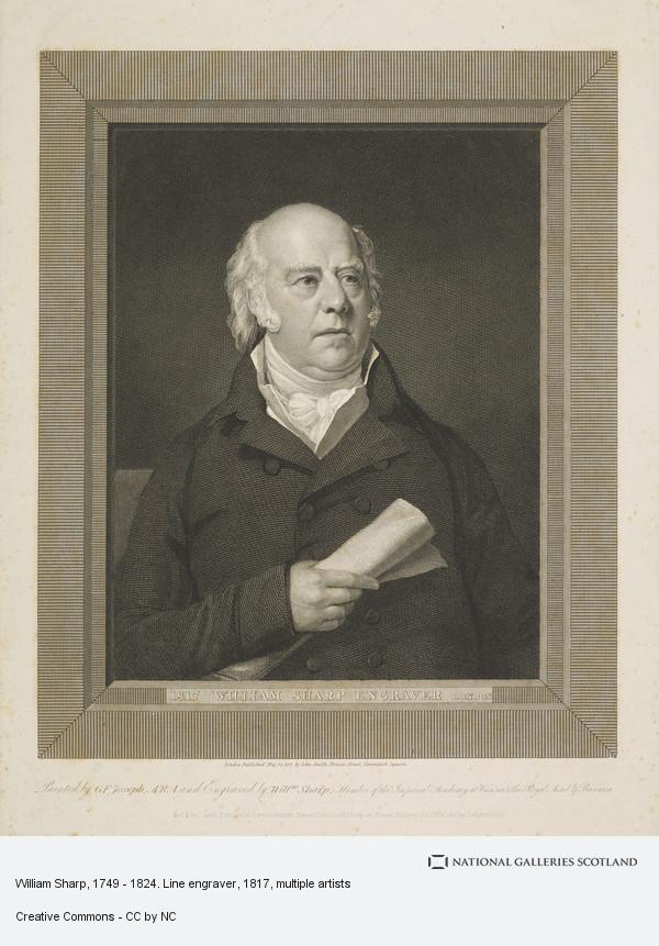 William Sharp, William Sharp, 1749 - 1824. Line engraver