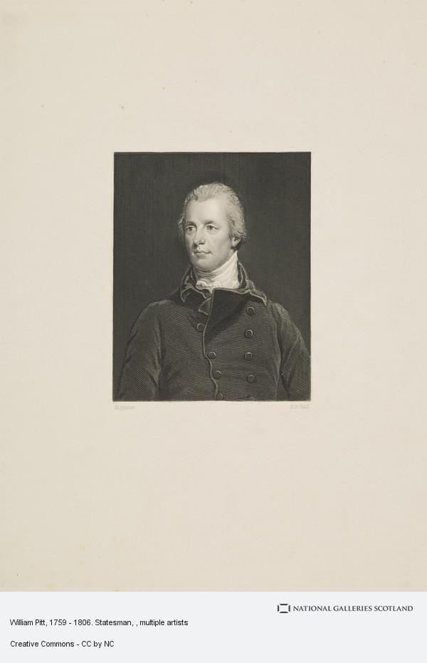Henry Bryan Hall, William Pitt, 1759 - 1806. Statesman