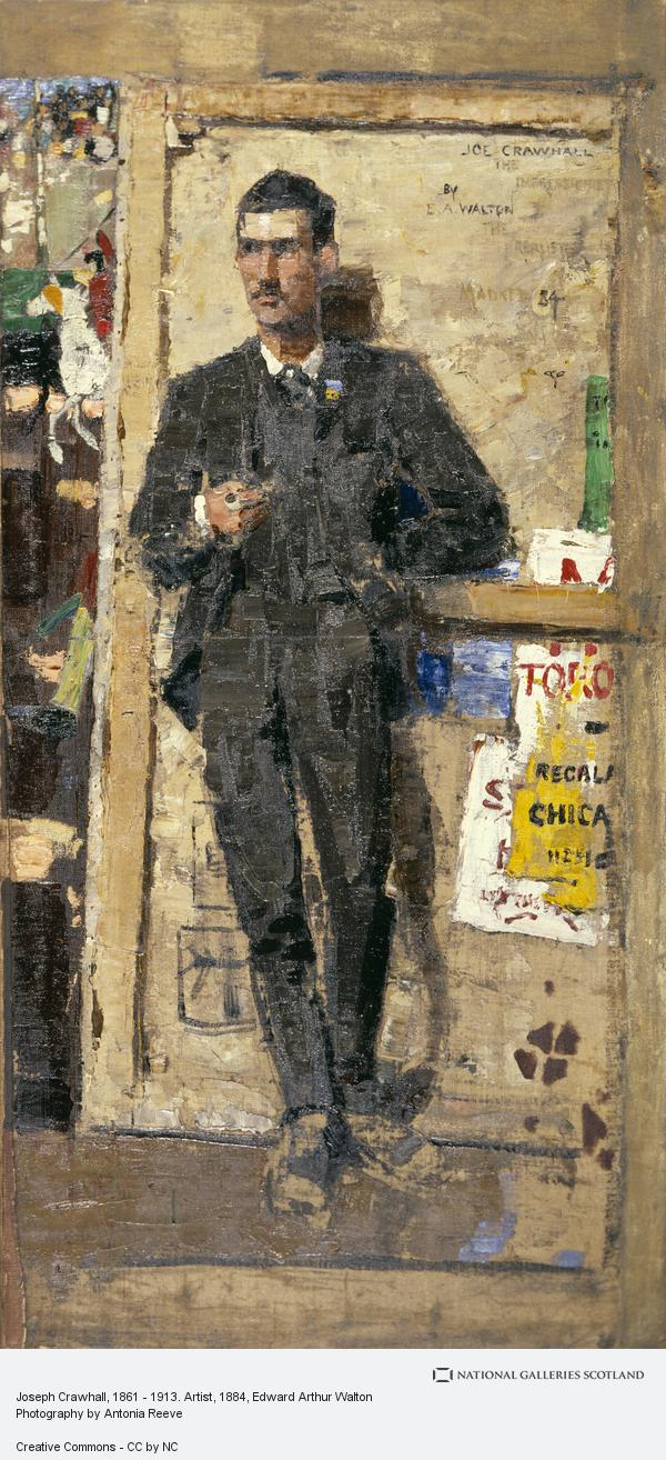 Edward Arthur Walton, Joseph Crawhall, 1861 - 1913. Artist (1884)