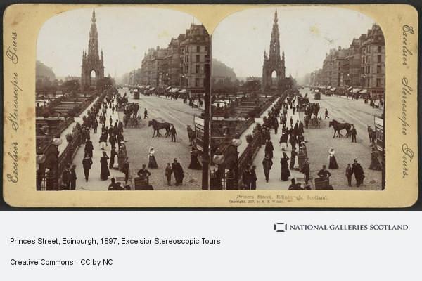 Excelsior Stereoscopic Tours, Princes Street, Edinburgh