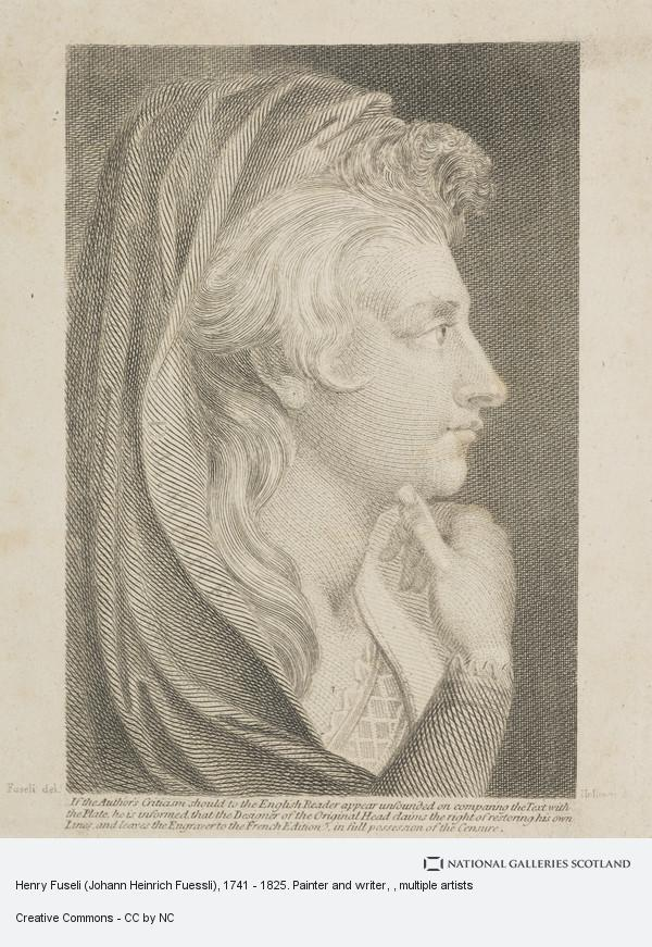Thomas Holloway, Henry Fuseli (Johann Heinrich Fuessli), 1741 - 1825. Painter and writer