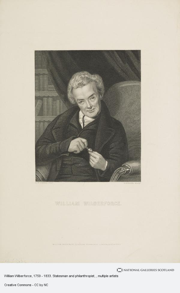 Edward Scriven, William Wilberforce, 1759 - 1833. Statesman and philanthropist