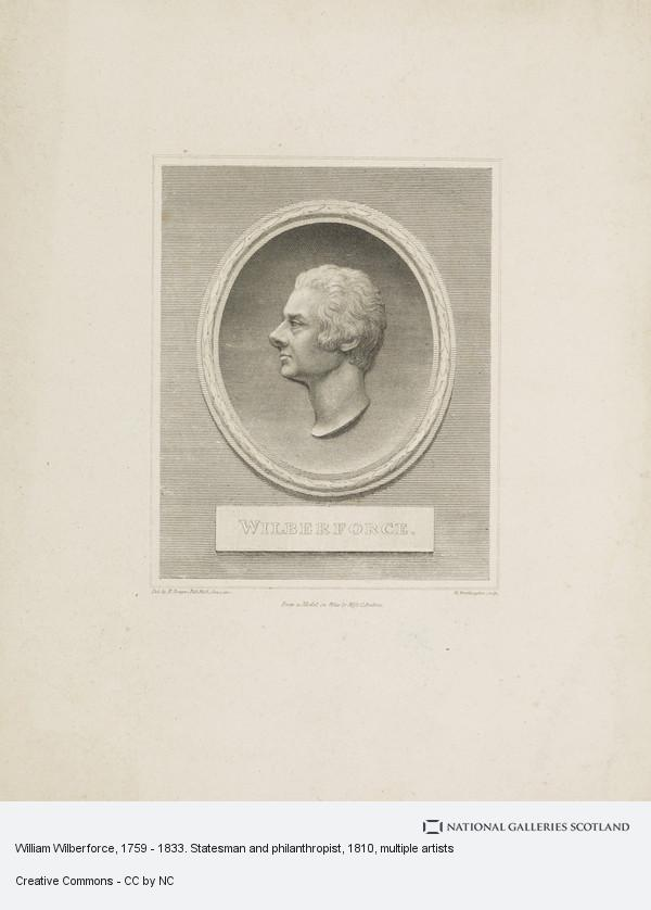 William Henry Worthington, William Wilberforce, 1759 - 1833. Statesman and philanthropist