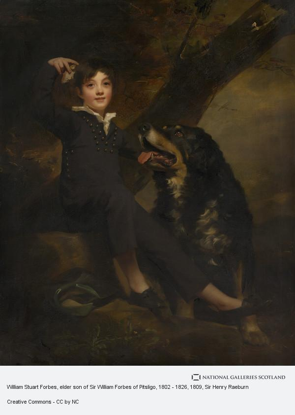 Sir Henry Raeburn, William Stuart Forbes, elder son of Sir William Forbes of Pitsligo, 1802 - 1826