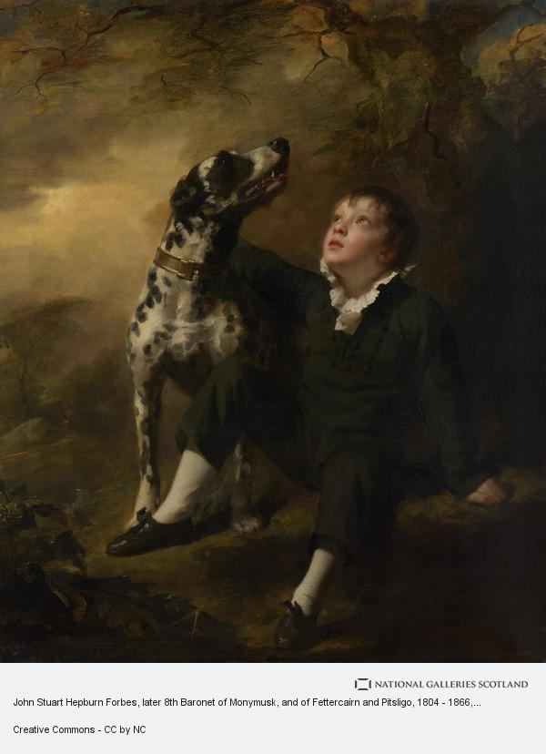 Sir Henry Raeburn, John Stuart Hepburn Forbes, later 8th Baronet of Monymusk, and of Fettercairn and Pitsligo, 1804 - 1866