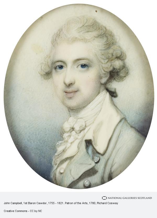 Richard Cosway, John Campbell, 1st Baron Cawdor, 1755 - 1821. Patron of the Arts