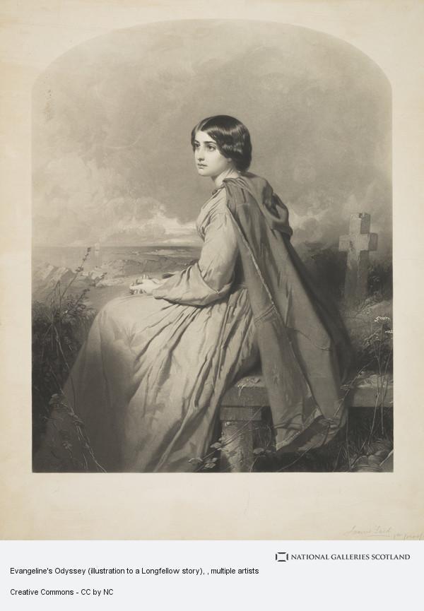 James Faed, Evangeline's Odyssey, 1815 - 1842. Heroine of the Farne Islands