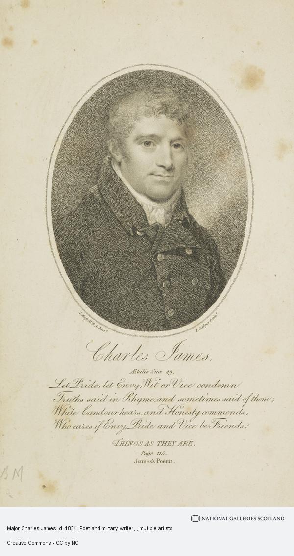John Samuel Agar, Major Charles James, d. 1821. Poet and military writer