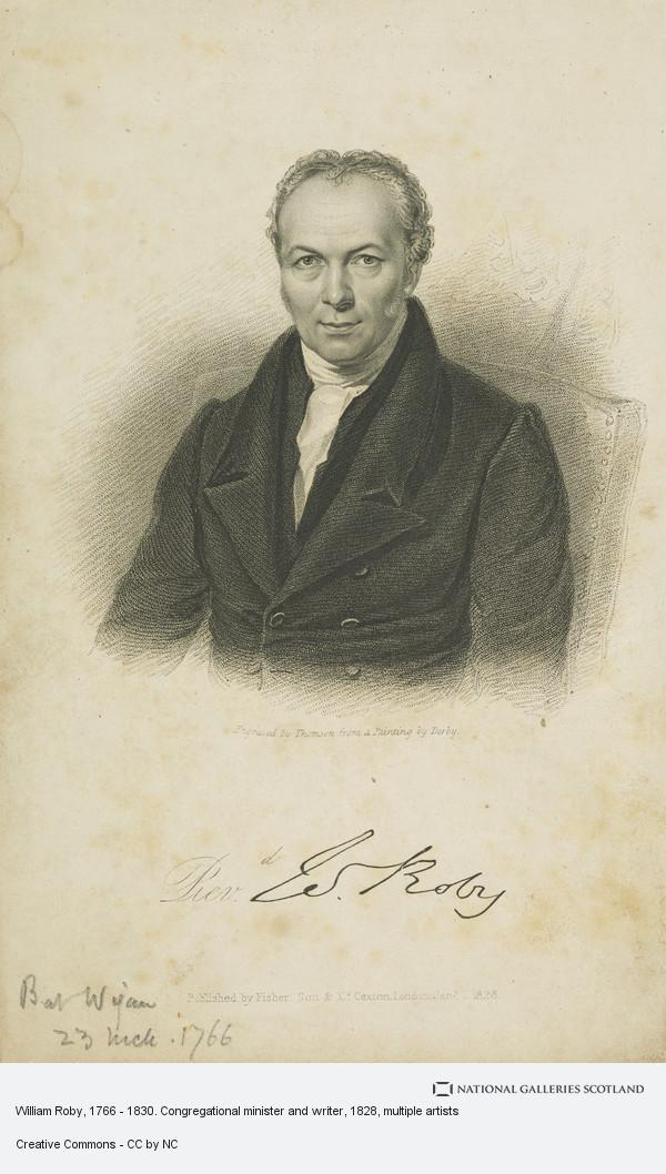 James Thomson, William Roby, 1766 - 1830. Congregational minister and writer