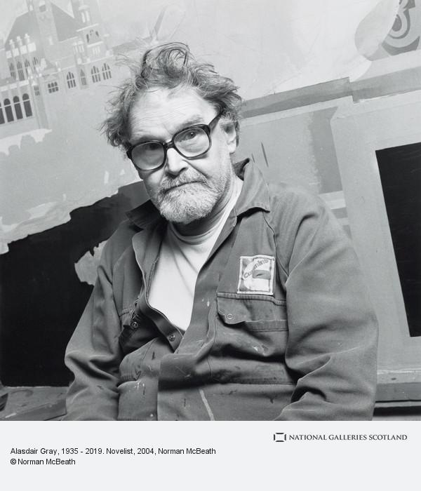 Norman McBeath, Alasdair Gray, 1935 - 2019. Novelist