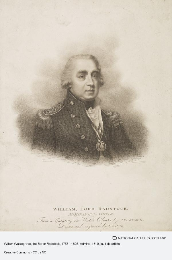 Charles Wilkin, William Waldegrave, 1st Baron Radstock, 1753 - 1825. Admiral