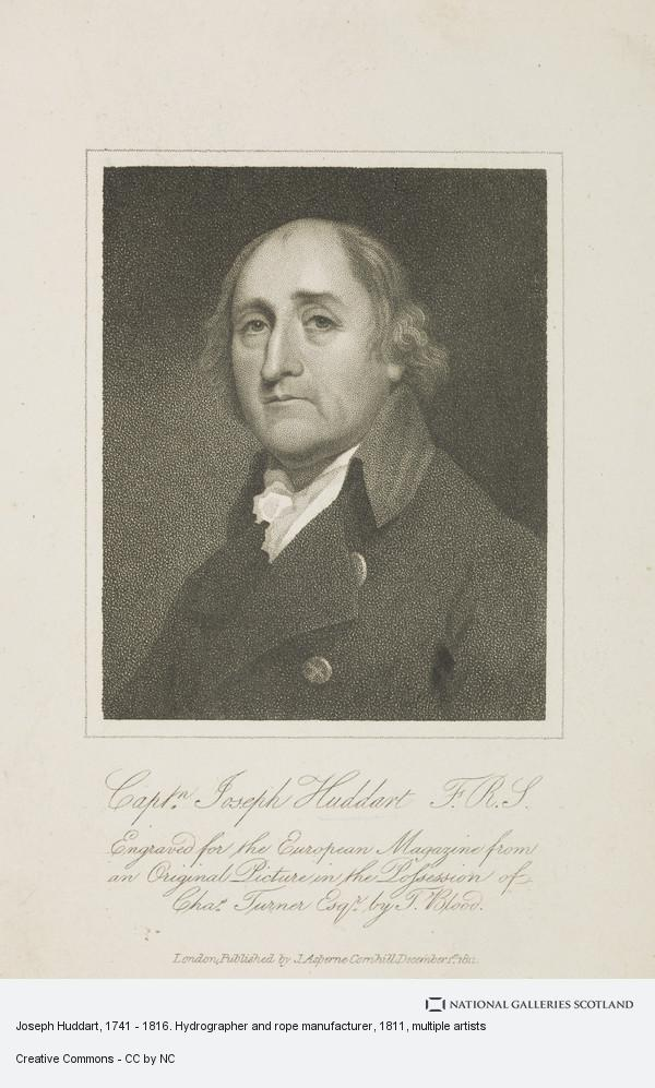 Thomas Blood, Joseph Huddart, 1741 - 1816. Hydrographer and rope manufacturer