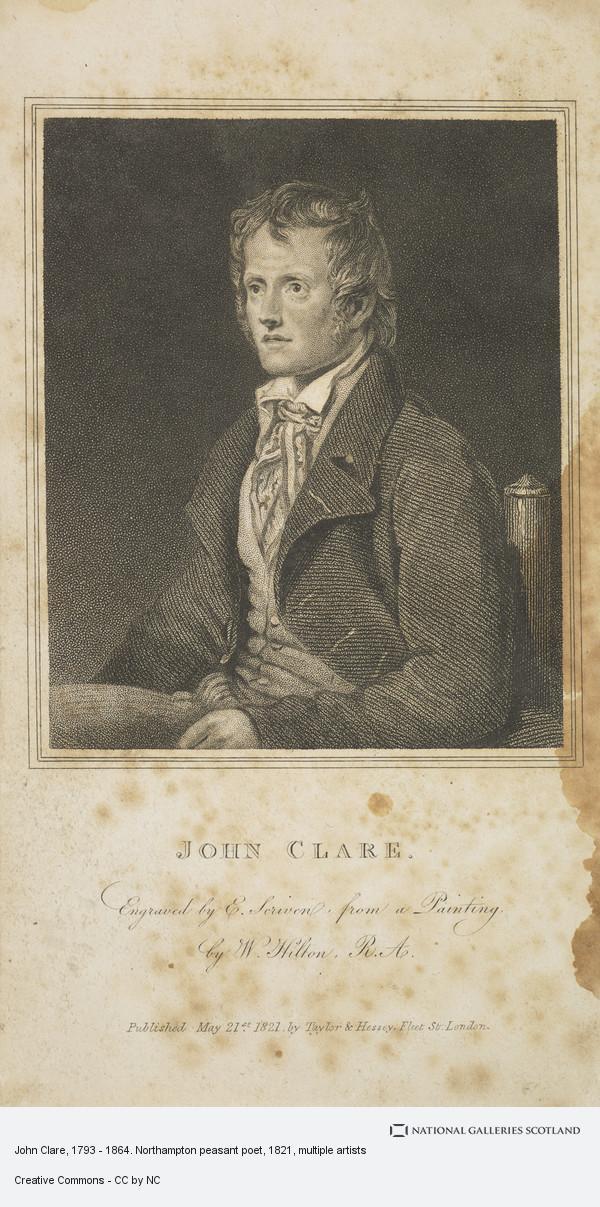 Edward Scriven, John Clare, 1793 - 1864. Northampton peasant poet