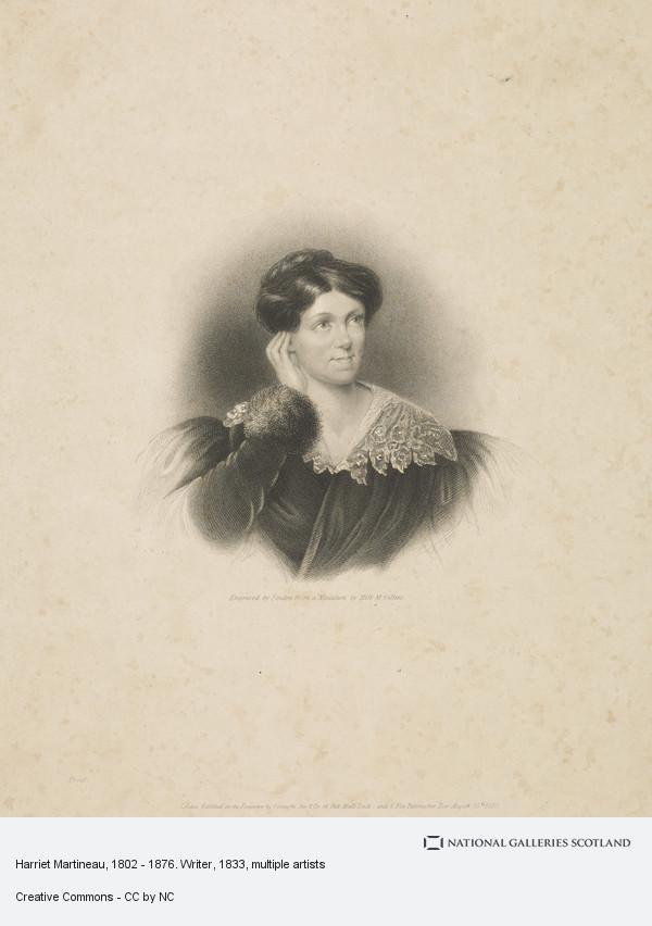 Finden, Harriet Martineau, 1802 - 1876. Writer