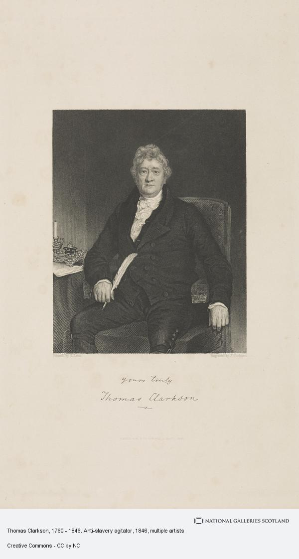 John Cochran, Thomas Clarkson, 1760 - 1846. Anti-slavery agitator