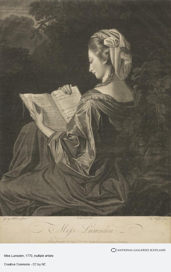Thomas Watson, Miss Lumsden