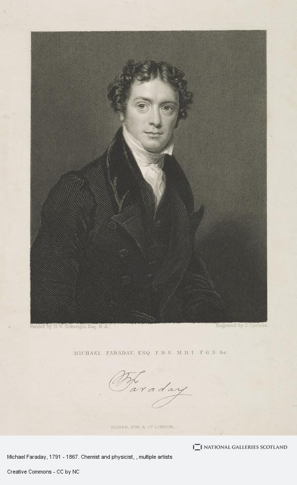 John Cochran, Michael Faraday, 1791 - 1867. Chemist and physicist