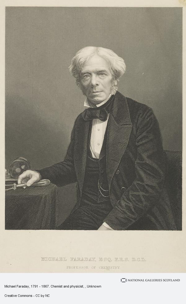 Unknown, Michael Faraday, 1791 - 1867. Chemist and physicist