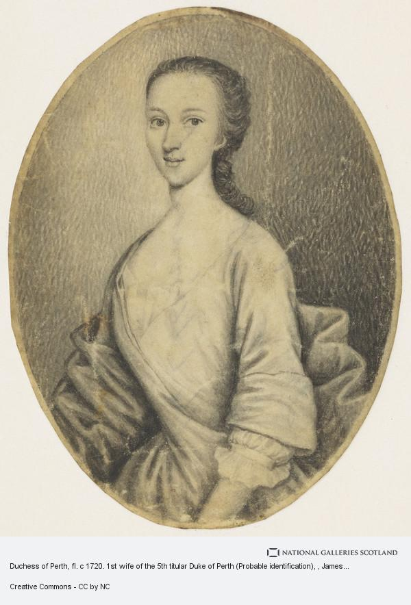 James Ferguson, Duchess of Perth, fl. c 1720. 1st wife of the 5th titular Duke of Perth (Probable identification)