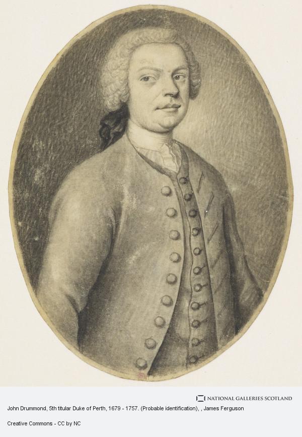 James Ferguson, John Drummond, 5th titular Duke of Perth, 1679 - 1757. (Probable identification)