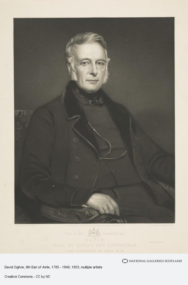 Edward Burton, David Ogilvie, 6th Earl of Airlie, 1785 - 1849