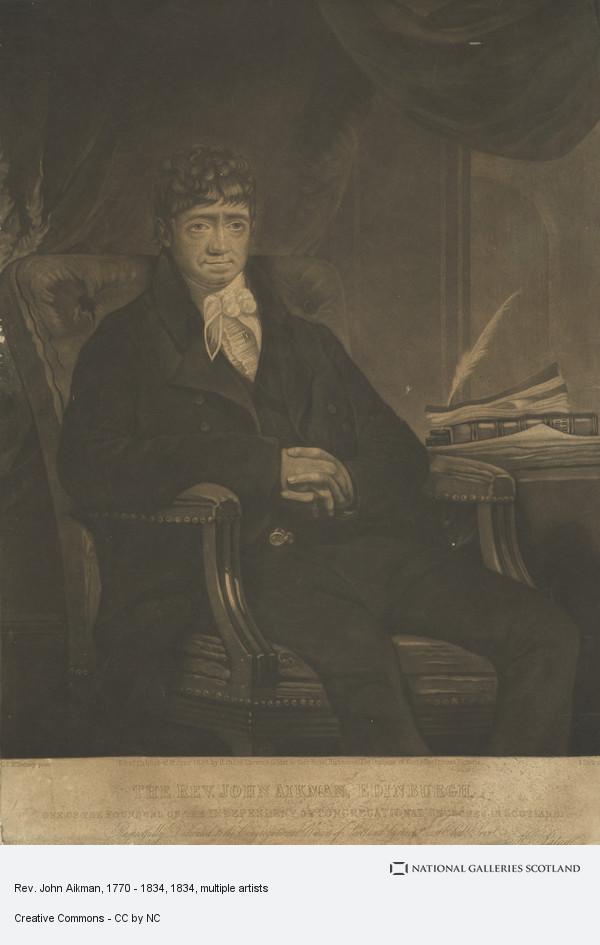 Thomas Dick, Rev. John Aikman, 1770 - 1834
