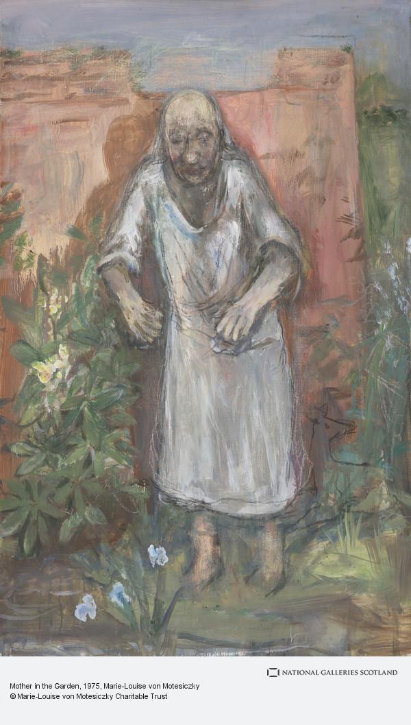 Marie-Louise von Motesiczky, Mother in the Garden