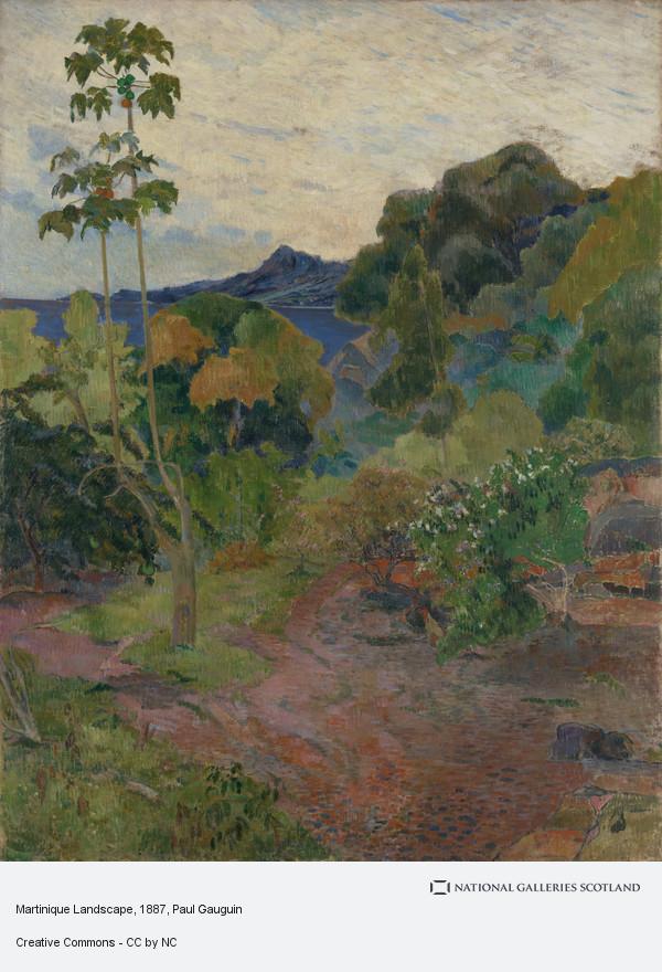 Paul Gauguin, Martinique Landscape