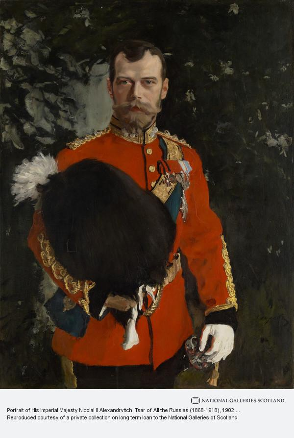 Valentin Serov, Portrait of His Imperial Majesty Nicolai II Alexandrvitch, Tsar of All the Russias (1868-1918)