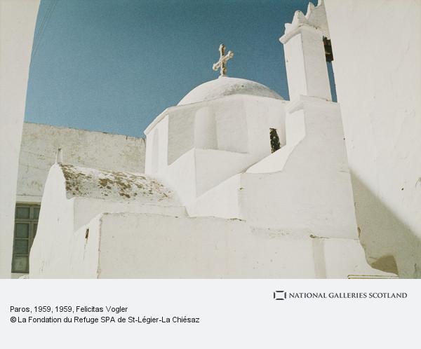 Felicitas Vogler, Paros, 1959